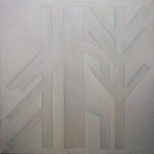 olej, plátno, 50x50