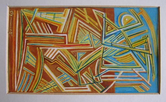 akryl, karton 20x10