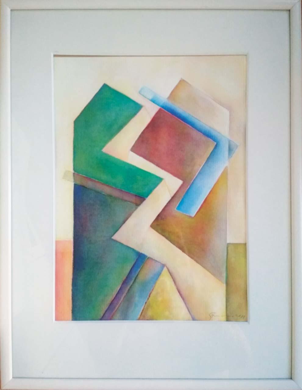 akvarel, 28X38, r. 2021