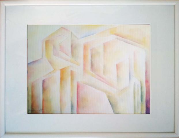 akvarel, 38x28, r. 2021