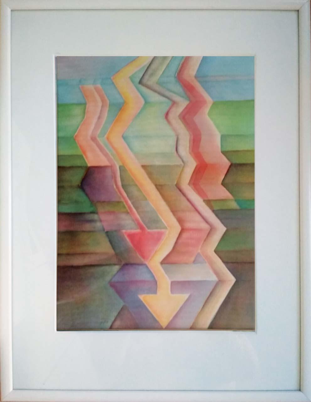 akvarel 28x38, r. 2021